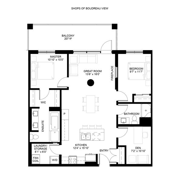 Botnaica Floor Plan